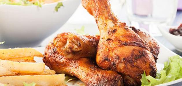 طريقة_تتبيل_الدجاج_المقلي